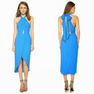 Bec & Bridge Oceanus Blue Dress